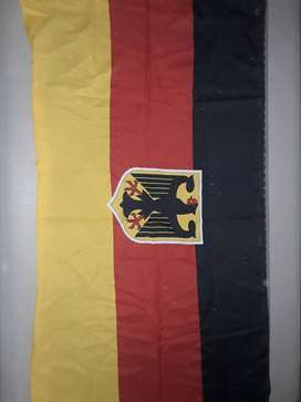 Bendera Australia, Jerman, Inggris Raya Bahan Katun - Ori