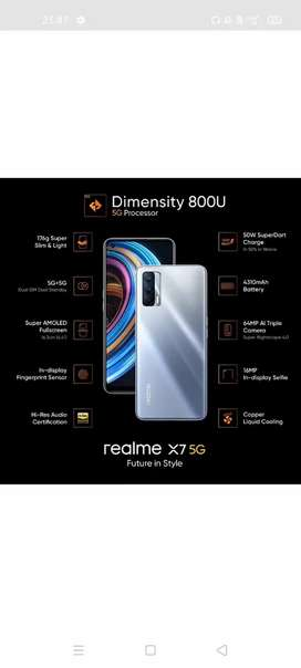 Realme x7 5G 2 month old