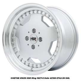 Velg Mobil Wuling Confero dll HSR R16X7-8 H4x100 ET42-38 SML