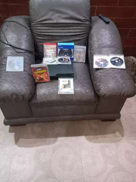PS 3 with 9 original games and new joystick