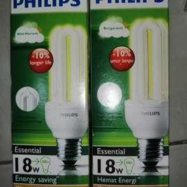 Lampu 18 watt warm/kuning