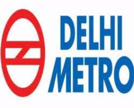 Contract basis job vacancy in Delhi metro male and female both can apl