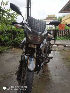 Good condition apache rtr160 with 2 new tyres and a new battery