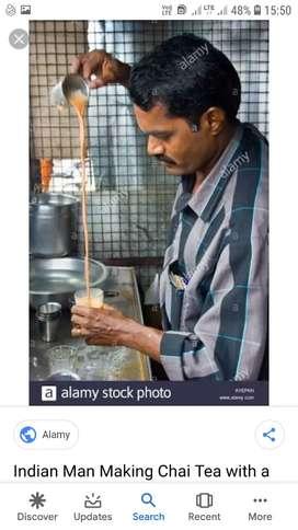 I want a tea maker in tea stall