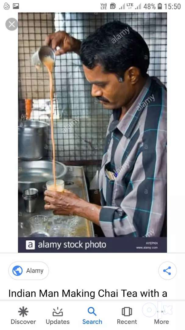 I want a tea maker in tea stall 0
