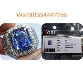 Natural blue safir 5.61 ct