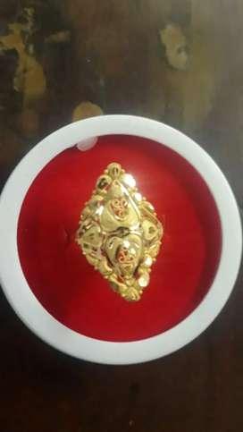 Finger ring Gold 22ct