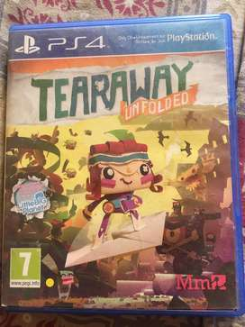 Tearaway ps4 game