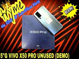 TRYME 5G UNUSED VIVO X50 PRO DEMO Full Kit Box Brand New