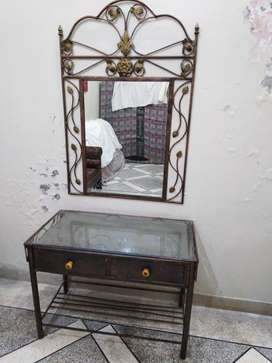Wrought iron bed set