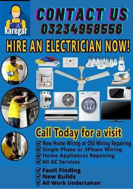 Expert Electricians for Home & Office
