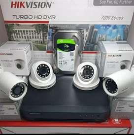 PAKET CCTV HIKVISION TURBO HD KUALITAS  GAMBAR TERBAIK DIKELASNYA