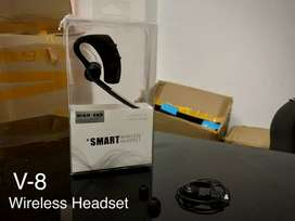 Headset wireles bluetooth smart V-8/V-9
