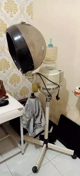 Steamer creambath