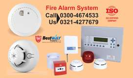 Fire Extinguisher, Fire Alarm, Fire Cylinder, Smoke Detector