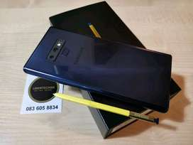 SAMSUNG NOTE 9  MODEL AVAILABLE HERE WITH NEW ACCESSORIES AND BILL
