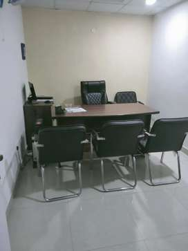 Corporate office spaces on lease.