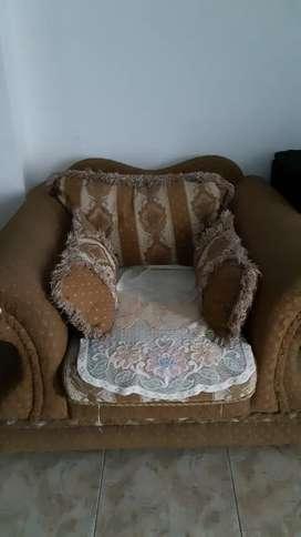 Sofa Besar ,  + kursi meja bar + kursi goyang