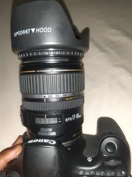 canon 60D lens 17/85mm wood