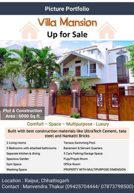 Independent Luxurious Bungalow for Sale