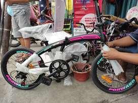"""Sepeda Lipat Murah Forward 20"""" Bisa kredit DP cuma 100 ribu"""
