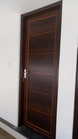 Pvc doors.