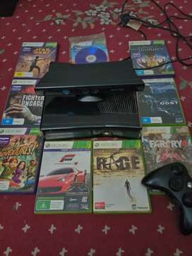 Xbox 360 slim 250gb (with kinect)
