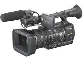 Sony video camera nx5