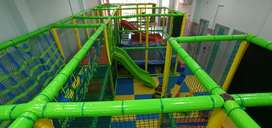 A indoor play area