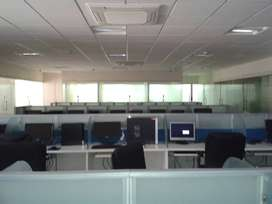 2750 sq.ft fully furnished commercial office space rent in Koramangala