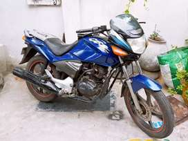 Cbz blue color bike will maintain