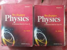 New Symplified Physics For H.S 2nd Yr Vol 1 And 2