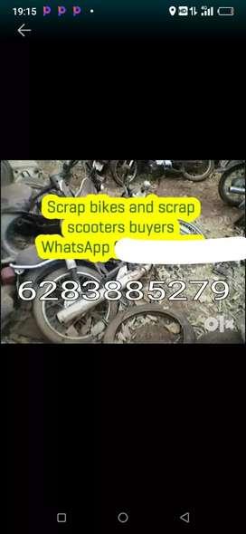 Hum purani kabad scooter & motorcycle Khridte hi
