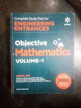 Objective mathematics volume 1 & 2 for jee mains nd advance of arihant