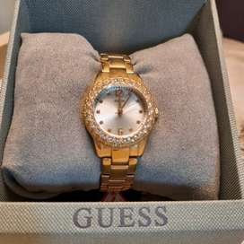 Guess golden watch