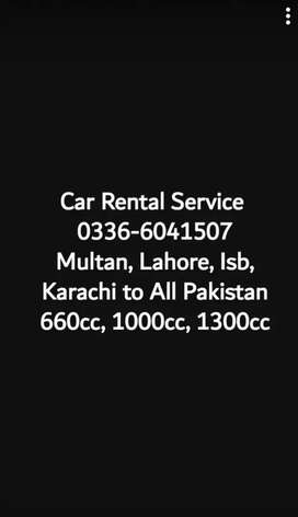 Rent a Car Available (All Pakistan)