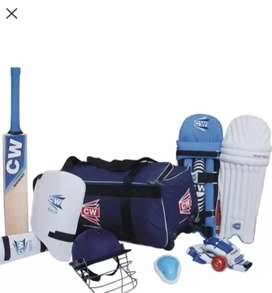 CW cricket kit in good condition at lowest price