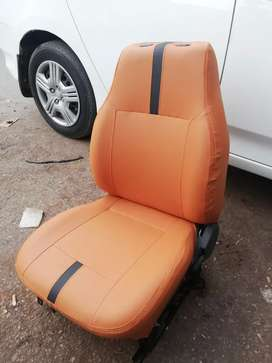 Skin fitting seats cover work on order or own design and color choice