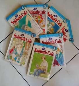 Komik Jepang Serial cantik Sabbath Cafe