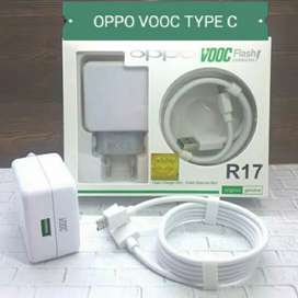 Smart Travel Charger oppo VOOC 4A Edisi Type C Original 100%