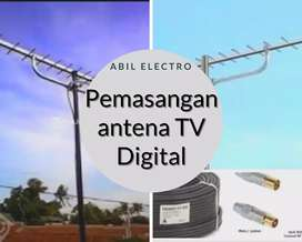 Paket Jasa Pasang Baru Antena TV digital