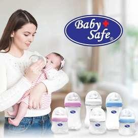 Baby Safe Wide Neck Bottle (Botol) 125ml & 250ml