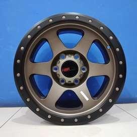 Cicil Velg Mobil Triton Pajero DP 10% Ring 17 HSR CRAG H6X139,7 BRZ