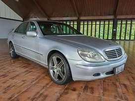 Mercedes Benz s280 w220 Silver 2001