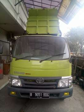 Hino Dutri 130 HD dump Truck Tahun 2014