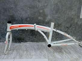 Frame fork sepeda lipat Yokohama 20inchi.