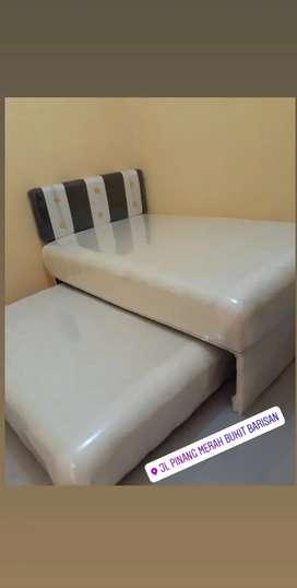 Bed sorong ukuran 120*200 cocok untuk anak-remaja