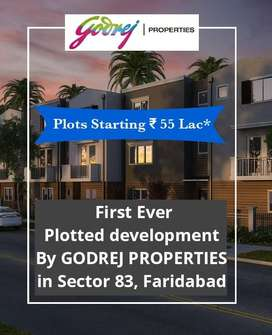 Presenting First Ever Plotted Development Sector 83, Godrej Properties