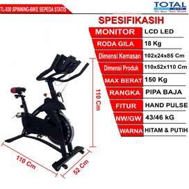 Alat Fitnes Murah Spinning Bike TL-930