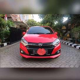 Ayla x 1200cc matik/matic merah 2018 pajak panjang brio